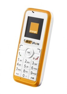 Orange and BIC® launch the BIC® phone in France