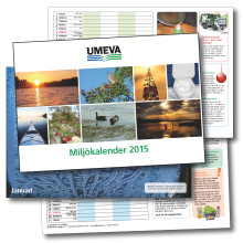 En Miljökalender till umeborna från UMEVA