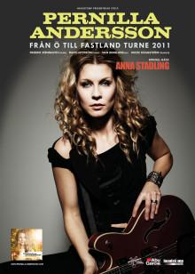 Pernilla Andersson  Från Ö till fastland turne 2011