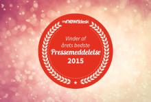 Vinder af Årets Pressemeddelelse 2015 er…