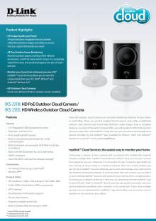 Produktblad, DCS-2332L