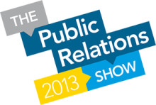 The Public Relations Show 2013 with CIPR