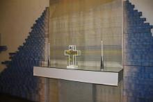 Ny utsmyckning i Sankt Sigfrids kapell på Kvibergs kyrkogård