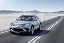 Världspremiär i Detroit: Volkswagen Cross Coupé GTE