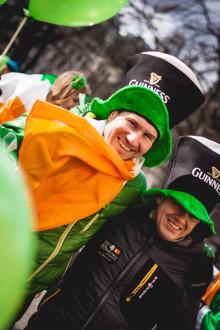 Firandet av St. Patrick's Day växer i Sverige