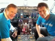 I dag flyr Norwegian et fullastet fly med nødhjelp til Afrika