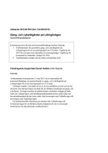 150907 45 d15-0953 Gång- och cykelåtgärder på Lidingövägen