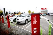Jämtkraft inviger Europas första smartladdning
