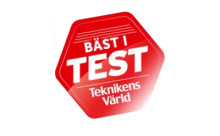 Thules takbox Thule Dynamic 800 testvinnare i Teknikens Värld test 2013