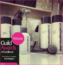 Dermalogica vant Guild Awards of Excellence 2014