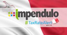 Tax Rate UPDATE - Malta - Stamp Duty Increase