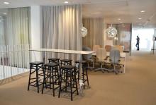 Framgångsfaktorer för Kinnarps Interiörs nya kontor