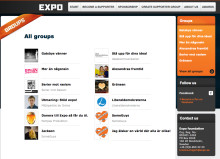 Good reception of exposupporter.se