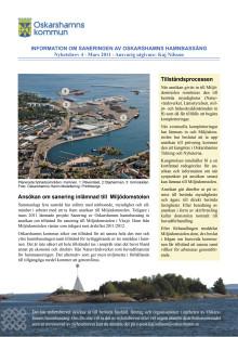 Nyhetsbrev 4 för sanering av Oskarshamns hamnbassäng