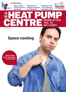 Nytt nummer av Heat Pump Centre Newsletter