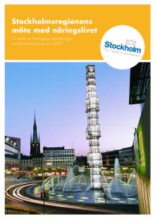 Stockholmsregionens möte med näringslivet – en studie av företagares uppfattningar om kommunernas service 2009