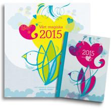Succén från 2014 är tillbaka: Unik kalender för 2015