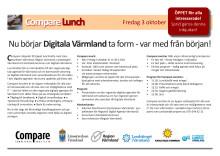 Inbjudan till Compare-lunch om Digitala Värmland