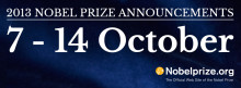 Live Webcast of 2013 Nobel Prize Announcements