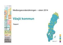 Medborgarundersökning Rapport Växjö 2014