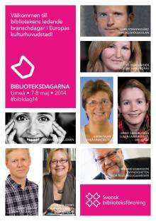 Biblioteksdagarna i kulturhuvudstaden Umeå