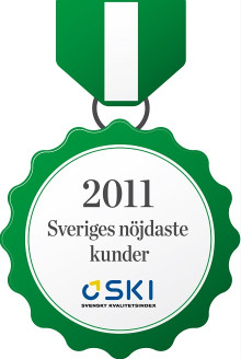 Bredbandsbolaget har nöjdast kunder enligt Svenskt Kvalitetsindex