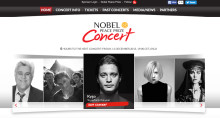 Warner Bros. worked with  UP THERE EVERYWHERE, Stockholm, on this years  Nobel Peace Prize Concert