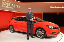 "Nya Opel Astra vinner ""2015 Golden Steering Wheel"""