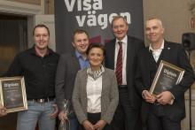 Norrlands vinnare av CSR-priset Visa vägen från Umeå och Luleå