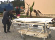 Fr John Bashobora's Container with Medical Equipment has Arrived!!