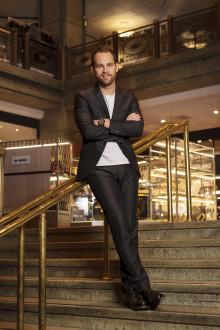 Stjärnkrögaren Björn Frantzén till Nordiska Kompaniet i Stockholm