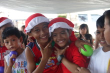 Taking Christmas to the children of the Philippines
