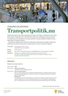 Program transportpolitik