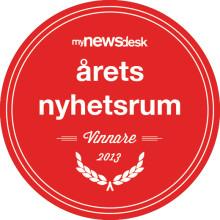 Thermotech vinnare av Årets Nyhetsrum 2013