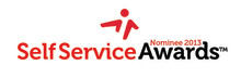 This year's nominees for the Self Service Awards 2013