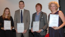 Samhällsengagerade unga fick pris som Sveriges framtida ledare