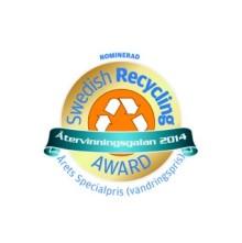 Returpack nominerad till Årets Specialpris på Återvinningsgalan