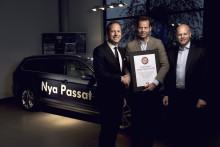 Teknikens Världs Stora Bilpris till nya Passat