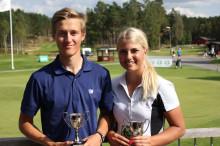 Landslagsspelarna starkast i Skandia Tour Elit på Hooks Golfklubb