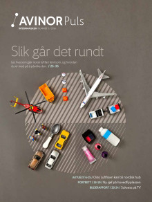 Internmagasinet Avinor Puls oktober 2014