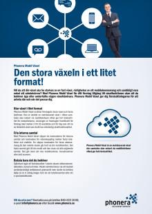 Phonera Mobil Växel - Produktblad