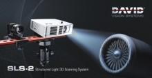 David SLS-2 3D-skanneri