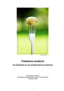Potatisens smakord