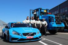 Snabba Volvoförare på MaskinExpo