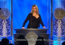 Kirstie Alley kommissionär i KMR