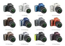 Nytt systemkamera fra Pentax med innovativ design