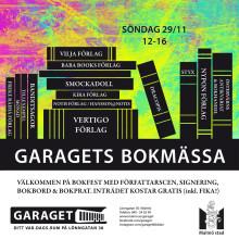 Bokmässa på Garaget: från lättläst till dekadens, ISIS och det märkliga landet Sverige
