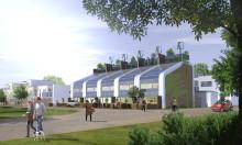 Koncept för radhus med energiprofil, Zero Energy Building