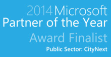 Software Innovation ble finalist i Microsoft 2014 Partner of the Year Award