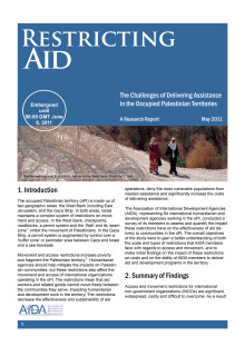 AIDA Restricting Aid Report